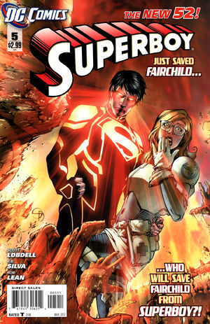 Cover for Superboy #5