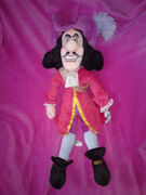 Captain hook plush