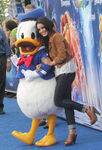Donald Duck with Vanessa Hudgens