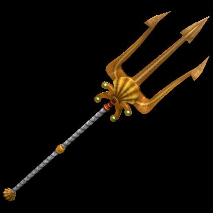 Catalog:Poseidon's Quake Trident - ROBLOX Wikia Poseidon Staff