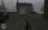 Zombie Nazi Approaching Hill 400 CoD2