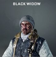 Blackwidow Face Paint BO