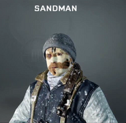 Sandman Face Paint BO