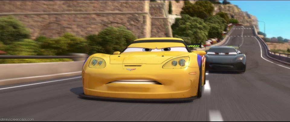 CARS 2 - Jeff Gorvette - Disney Pixar - Available on Digital HD ...
