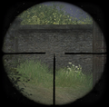 Kar98k sniper scope ADS CoD2