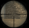Lee-Enfield Sniper Sight CoD2