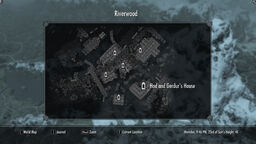 Map Hod and Gerdur's house