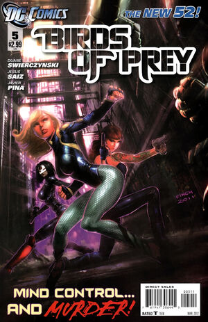 Cover for Birds of Prey #5