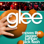 Glee - moves like jagger