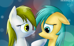 FANMADE Derpy and raindrops