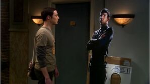 BBT - Sheldon and lifesized cutout