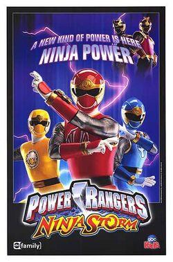 Ninja Storm poster