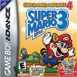 Super Mario Advance 4 Super Mario Bros 3 (NA)