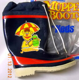 Keds 1982 muppet boots 1