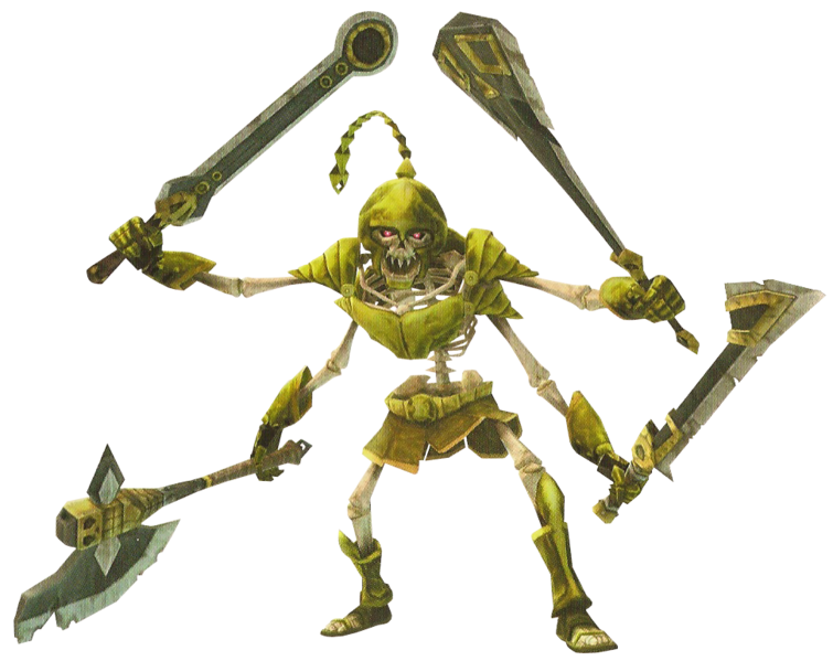 Stalmaster Zeldapedia The Legend Of Zelda Wiki Twilight Princess Skeleton