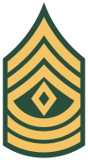 US Army OR-8