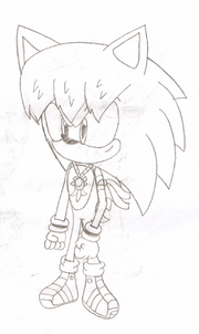 Cesar the Hedgehog's new design