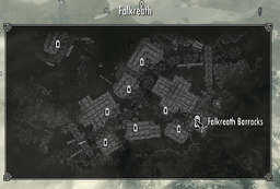 Falkreath barracks map