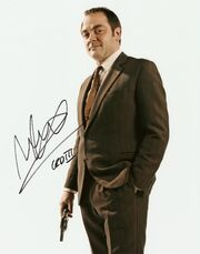Mark sheppard signed photo