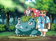 EP440 Venusaur liberando olor