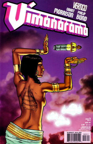 Cover for Vimanarama #3