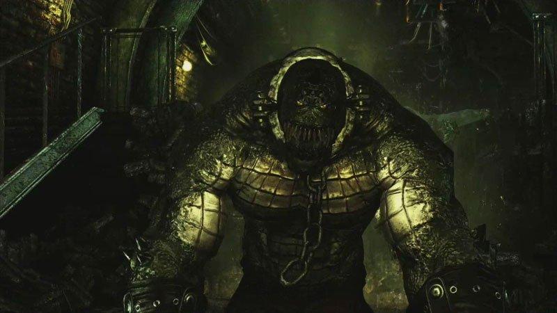 Killer Croc Arkham Asylum Lair Killer Croc Arkham Asylum Lair