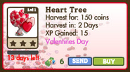 Heart Tree Market Info