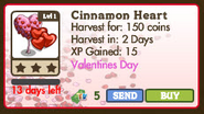 Cinnamon Heart Tree Market Info