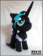 Nyx Plushie v2 by Magnastorm