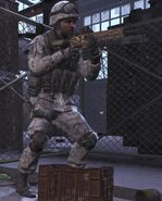 Spetsnaz snow MW3