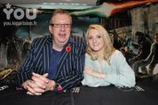 Mark williams and evanna lynch