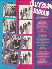 Friends of mine song lyrics duran duran wikipedia