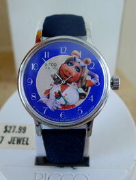 Picco 1980 miss piggy photo watch
