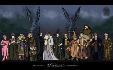 Hogwarts Professors by Belegilgalad