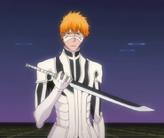 Ep358 Ichigo holding sword