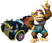 MKPC Funky Kong
