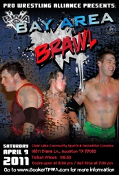 Bay Area Brawl 2011 poster