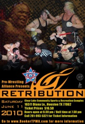 Retribution 2011 poster