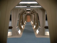 Galaxy class engineering corridor