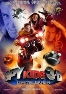 Spy Kids 3-D movie poster