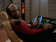 Worf at conn