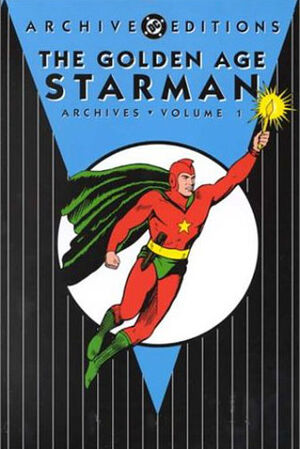 Cover for Golden Age Starman Archives #1