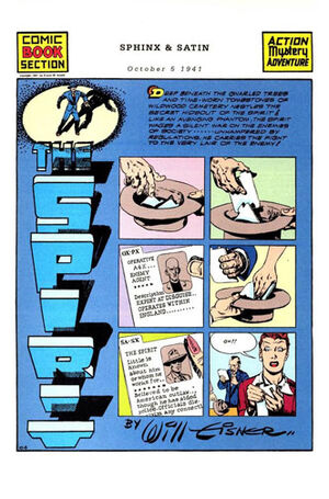 Cover for Spirit Newspaper Strip #71