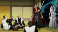 Koga ambushes the officials who framed him