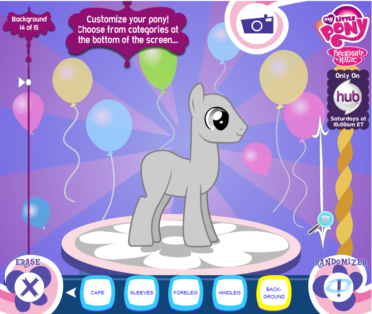 Creator by joy-ling on DeviantArt My Little Pony Character Creator mlp ...