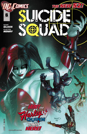 Cover for Suicide Squad #6