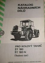 Liaz ST180 N 4WD b&amp;w brochure - 1985