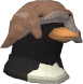 Captured Penguin chathead