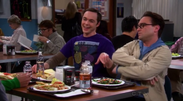Sheldon laughing