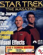Star Trek The Magazine volume 2 issue 12 cover 2